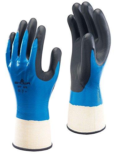 Eurosell Profi Handschuhe Montagehandschuhe ölfest ölbeständig Arbeitshandschuhe öl feste Arbeit Handschuh (9)