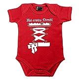 meinherzschlag Baby Dirndl Zenzi rot Größe Größe: 56 (0-3 Monate)