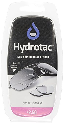 Hydrotac Stick-on Bifocal Lenses (OPTX 20/20)- +2.50 Diopter by NEOPTX