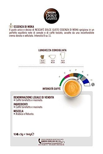 NESCAFÉ DOLCE GUSTO ESSENZA DI MOKA Caffè espresso 16 capsule