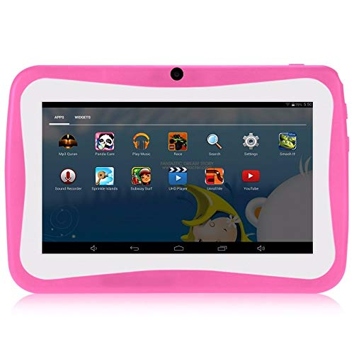 kids tablet KIDS TABLET per bambini HD 7 pollici Android 4.4 Wifi 1g ram 8 rom rosa