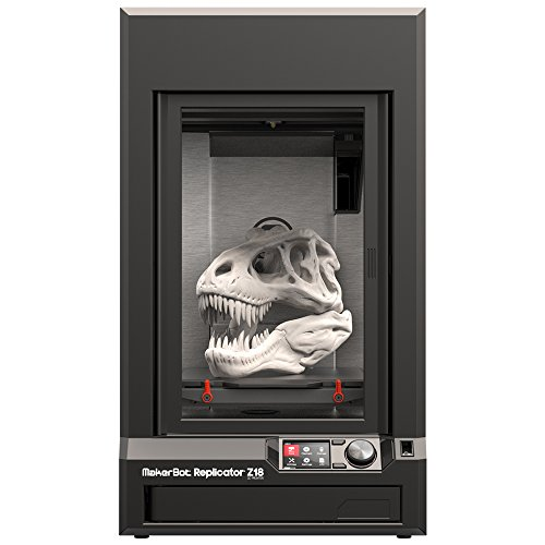 MakerBot Replicator Z18 - impresoras 3D (Negro, 350W, 100-240V, 50/60 Hz, Mac OS X 10.7 Lion, Mac OS X 10.8 Mountain…