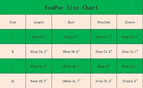 YouPue Femmes Chemise Shirt Manche Longue Épaule Off Col V Bandage Blouse Off-shoulder Chemise Haut Top Shirt Blanc