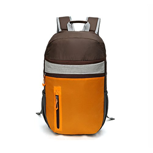 Zaino Da Campeggio Con Zaino Da Zaino Da Zaino Impermeabile,Orange Orange
