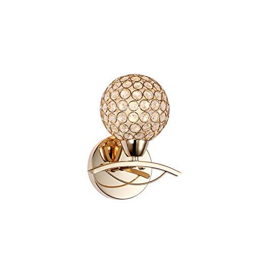 ntinental Luxury Persönlichkeit Kreative Ausschnitt Einzigen Kopf Gold Kristall Zirkon Heimtextilien Für Jede Szene Größe 18 * 21 cm ()