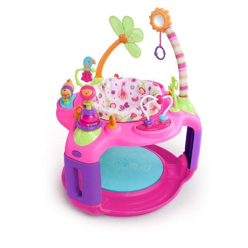 Bright Starts Pretty In Pink Dolce Safari Bounce-A-Round (Inviato Da Uk)