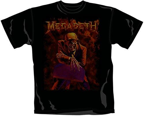 Megadeth - Camiseta - Hombre negro 50