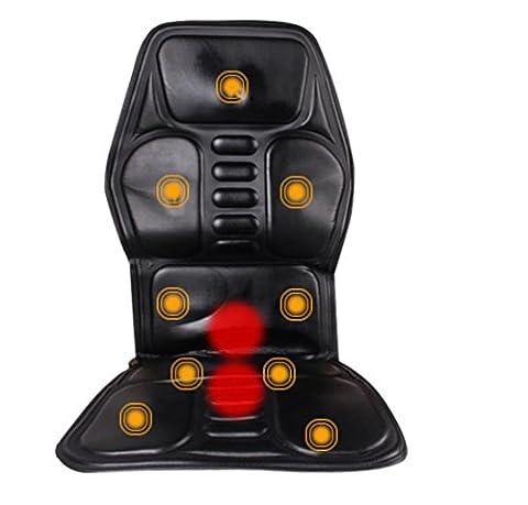 SHISHANG Coussin de massage de voiture Coussin de massage intelligent multifonctions massage voiture Haut cuir 9 Motif Adjust Family Relief Sour