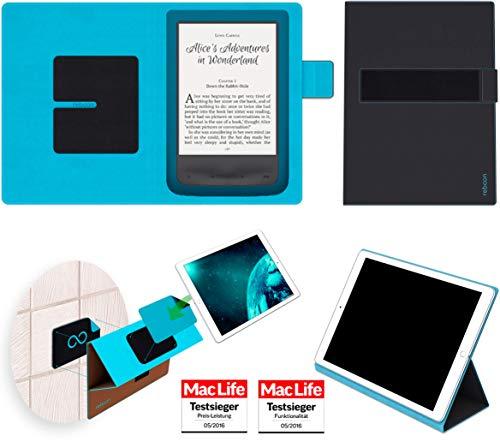 reboon Hülle für Pocketbook Aqua 2 Tasche Cover Case Bumper   in Schwarz   Testsieger (Aqua-ereader)