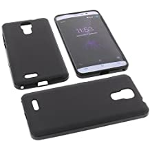 Funda para Cubot P12 (z100) Funda protectora de goma TPU para móvil negra