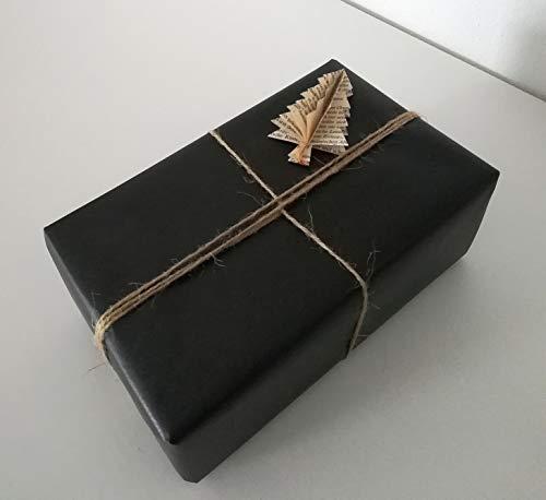 e als Geschenkverpackung aus Buchseiten//Upcycling//Verpackung Weihnachtsgeschenk ()