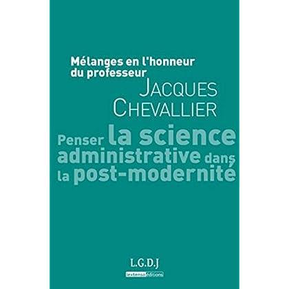 Mélanges en l'honneur de Jacques Chevallier