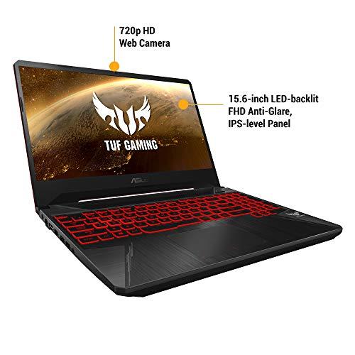 "ASUS TUF Gaming FX505GD 15.6"" FHD Laptop GTX 1050 4GB Graphics (Core i5-8300H/8GB RAM/1TB HDD/Windows 10/Black Plastic/2.20 Kg), FX505GD-BQ136T Image 4"
