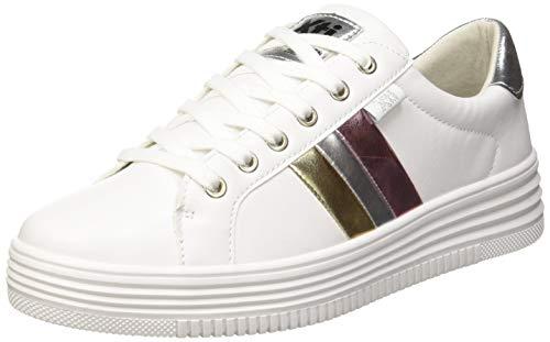 XTI 48891, Zapatillas Mujer, Blanco, 36 EU