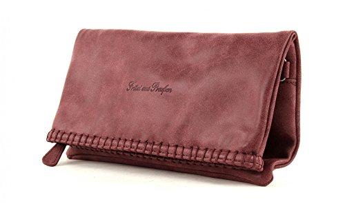 Fritzi aus Preußen Ronja Stit Vintage Pochette 29 cm Amarena (Rosso)