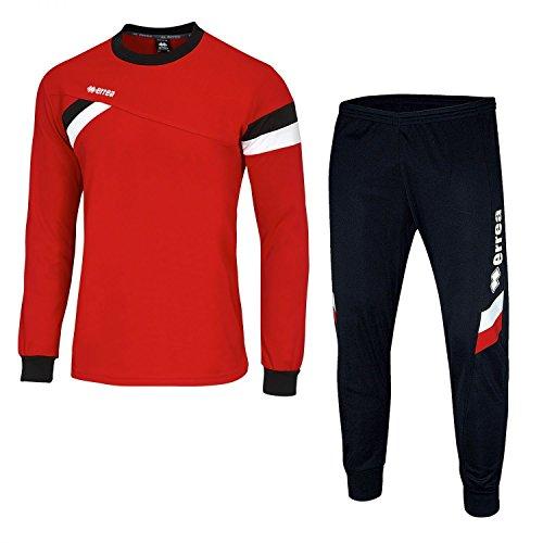 FORWARD Trainingskombination · SET aus Pullover und Hose Größe S, Farbe rot-schwarz-weiß, Farbe rot - schwarz - weiß