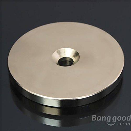 mark8shop N5250mmx5mm Senkkopf Ring Magnet Loch Disc 6mm Rare Earth Neodym-Magnet