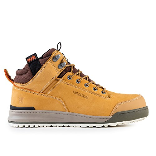 Scruffs Switchback Sb-P, Bottes de Protection Homme, Jaune (Tan), 43 EU