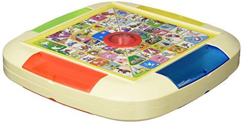 ColorBaby- Juego de Mesa 2 en 1 Oca y Parchís CB Games