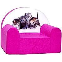 Velinda Kindersessel Mini Sessel Kinderstuhl Relaxsessel