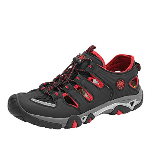 friendGG Der Fluss Der Art Und WeisemäNner Beschuht Im Freien Das Atmungsaktive Wandern Der Turnschuhe Die Schuhe Klettern Herren Trekking Wanderhalbschuhe Freizeitschuhe Outdoor Schuhe Laufschuhe