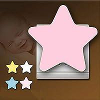 JZTRADING Iluminación Infantil Lámpara de Noche Bebé durmiendo Luces Lindas de la Noche del Dormitorio Lámpara