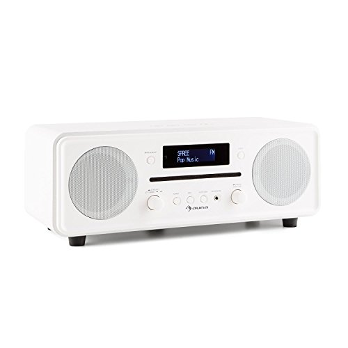 Auna Melodia Radio Dab Bluetooth minicadena Reproductor