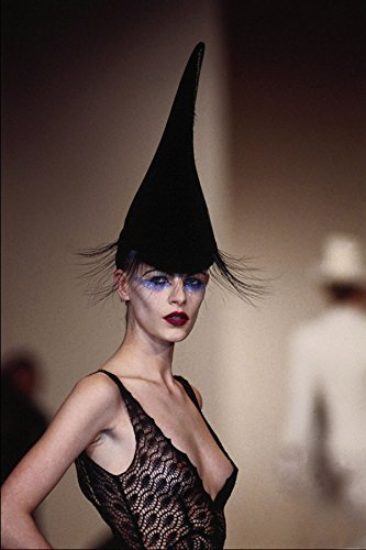 725043 Philip Treacy Velvet And Lace Spire Hat A4 Photo Poster Print 10x8 Lace Velvet Hat