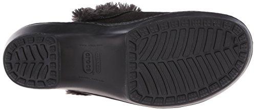 Crocs Cobbler Shimmer Leder Clog Black/Black