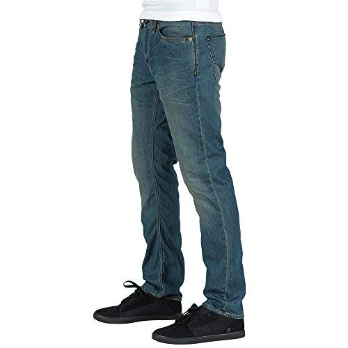 Volcom Herren Jeans Vorta Denim Fog