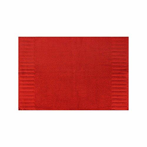 Uni Walk Serie asciugamano telo doccia Lavetta asciugamano ospite Guanto in spugna, Spugna, Rot, Badematte