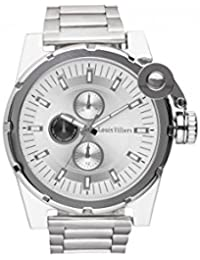 Reloj hombre Louis Villiers de acero Silver 50 mm lvag3733 – 10