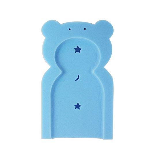 First Steps - Supporto in spugna, per vasca da bagno, a forma di orso