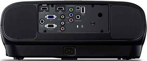 Bild 19: Epson EH-TW6100 3D Heimkino 3LCD-Projektor (Full HD 1080p, 2.300 Lumen Weiß & Farbhelligkeit, 40.000:1 Kontrast, 2x HDMI (1x MHL), inkl. 1x 3D Brille) schwarz