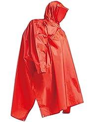 WXLQ Al aire libre poncho montañismo engrosamiento impermeables con mangas red l
