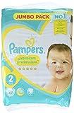 Pampers Premium Protection New Baby Windeln, Größe 2 Mini (4-8 kg), Jumbopack, 1er Pack (1 x 68 Stück)