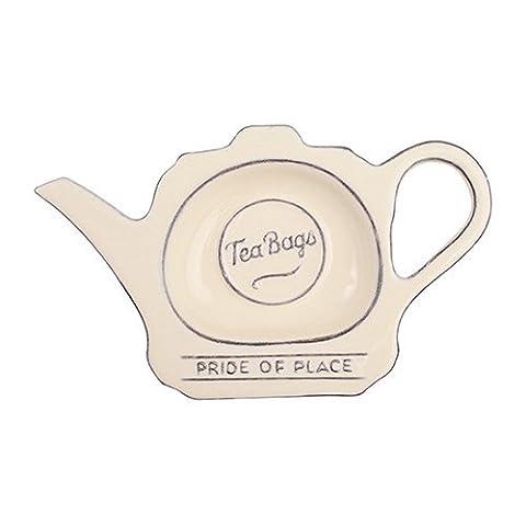 T & G Pride Of Place Tea Bag Coaster Tidy