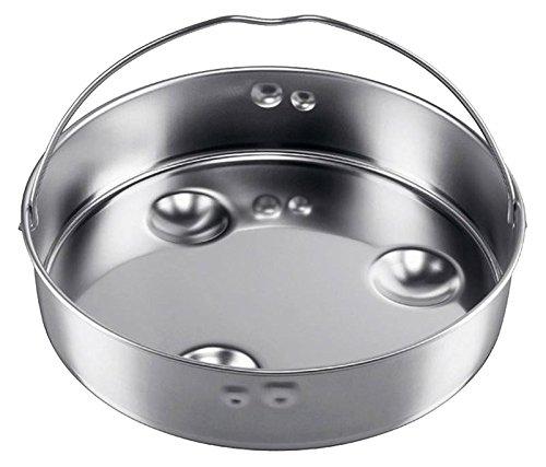 Silit Sicomatic Schnellkochtopf Einsatz, Dünsteinsatz, ungelocht, für Ø 22 cm, Edelstahl, spülmaschinengeeignet