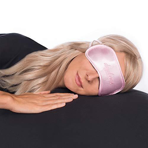 daydream Schlafmaske + gratis Kühlkissen (= Kühlmaske) (B-1008) Frauen & Herren | Topseller seit 10 Jahren | Sieger beim Test von Vergleich.org | Schlafmasken | Schlafbrille | Augenmaske | Augenklappe