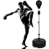 Imposes Speedball Standboxsack Punchingball Boxstand I Höhenverstellbarer Standbox-Trainer 144-156cm für Jugendliche und Erwachsene (DE Lager)