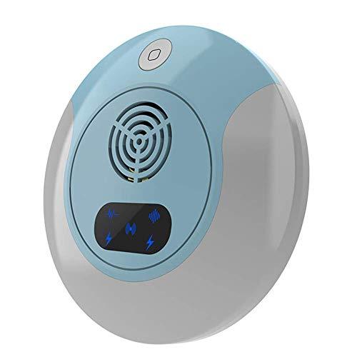 ZALA Ultraschall Mückenkiller Schädlingsbekämpfer mit Ultraschall Schädlingsbekämpfer einfach und bequem für Verschiedene Umgebungen wie Büros, Schulen, Häuser und Farmen (Blue) -