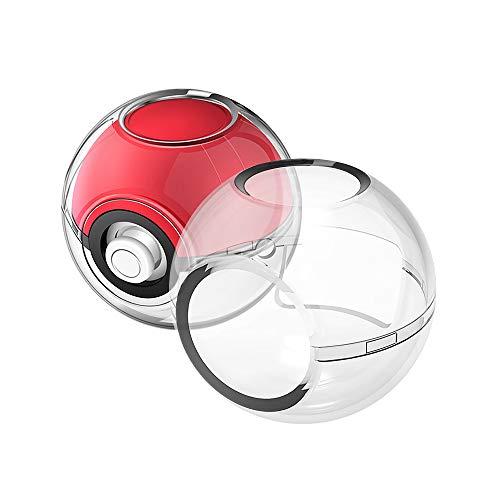 Schutzhülle für Nintendo Switch Poke Ball Plus Controller Hoyxel XD23 Crystal Protector Case Anti-Kratzer Pokémon Zubehör Kit kompatibel mit Nintendo Switch Let's Go, Eevee Game Weiß - Controller Crystal Case