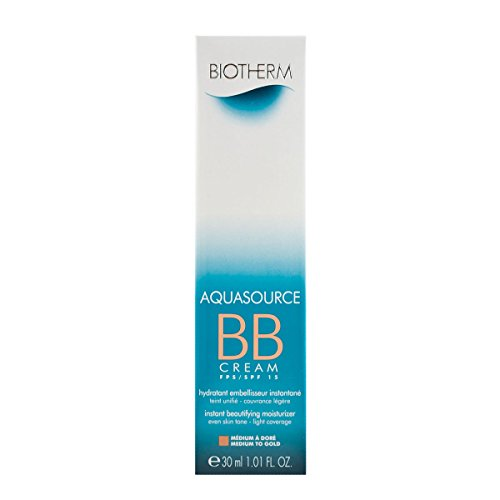 BIOTHERM AQUASOURCE BB CREAM SPF15 #medium to gold 30 ml