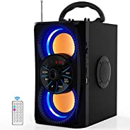 Portable Bluetooth Speakers Subwoofer Heavy Bass Wireless Outdoor/Indoor Party Speaker Line in Speakers Suppor