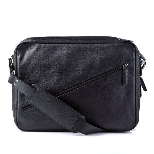 FEYNSINN® Aktentasche EMILIO mit Laptopfach Messenger Bag