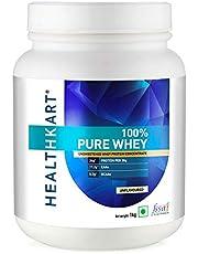 HealthKart 100% Pure Whey Protein- Unflavoured 1Kg