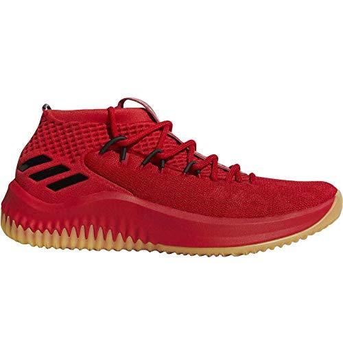 adidas Herren Dame 4 Basketballschuhe Rot (Scarle/Hirere/Cblack) 51 1/3 EU