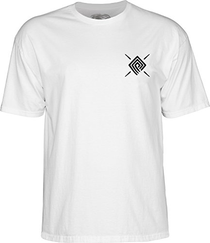 powell-peralta PPP Burst Weiß Medium T-Shirt