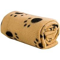 Cdet 1x Patrón de garra Manta de Estera del Perrito Gato Alfombra Suave Manta para Mascotas Perros Gatos 100*70cm