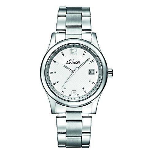 s. Oliver Hombre Reloj de pulsera analógico cuarzo So de 15032de MQR
